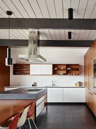 image modern kitchen. Eichler Update By Michael Hennessey. White StoveModern KitchensMid Image Modern Kitchen H
