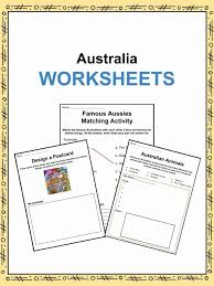 Australia Facts, Worksheets & Information For Kids