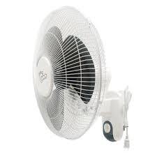 3 sd oscillating wall mount fan