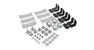 #TK24 - Alloy Tray Fitting <b>Kit</b> (<b>Thule</b> Aero) | Rhino-Rack