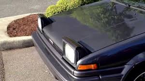 Pop Up Lights Toyota Corolla Gts Flip Up Headlights Youtube
