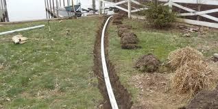 Drainage Services  Everett Marysville Arlington Lake StevensDrainage In Backyard