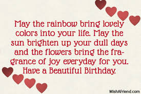 Beautiful Birthday Quotes For Husband Best Of May The Rainbow Bring Lovely Colors Birthday Wishes For Husband