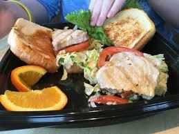 the habit burger grill albacore tuna filet sandwich opened up