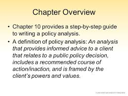 analysis of serial killersanalysis in writing writing literary chapter 10 the art of structuring and writing a policy analysis