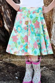 Skirt Patterns With Pockets Delectable A Circle SkirtWITH POCKETS And A Tutorial For The Pockets
