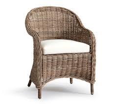 Alluring Rattan Armchair With Santa Ana Pottery Barn Pottery Barn Rattan Chair76