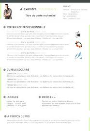 Resume Template Libreoffice Download Curriculum Vitae Example Cover