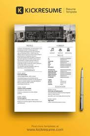 get hired on pinterest creative resume resume and create stand out resume and get hired www kickresume com resume