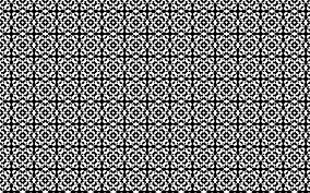 Checkered Pattern Unique Decorating