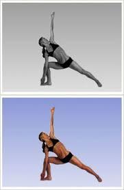 trikanasana triangle pose bikram yoga bikram yoga poses yoga information dance fitness cles
