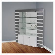 corner bars furniture. Mera White Corner Bar Bars Furniture
