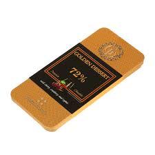 <b>Шоколад горький GOLDEN DESSERT</b> 72% с вишня с коньяком 100 г