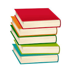 how to draw a stack of books and an e