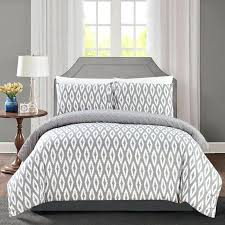 geometric comforter set chic home 3 piece reversible embossed embroidered bedding silver blue embroi