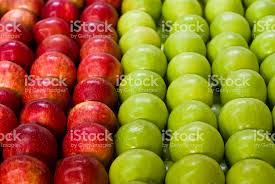 green and red apples. green and red apples royalty-free stock photo