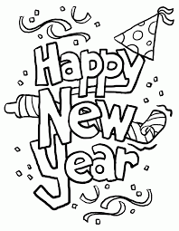 Small Picture Happy New Year 2017 Printable Coloring PagesNewPrintable
