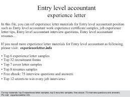 Accounting Cover Letter Accounting Cover Letter No Experience Sample