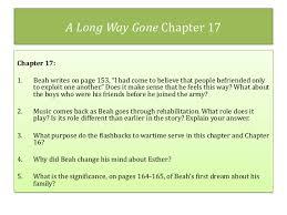 A Long Way Gone Quotes Magnificent A Long Waygoneunitpowerpointslides