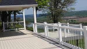 glass deck railings