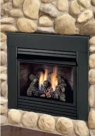 direct vent gas fireplace logs fires surrounds burner stove fire