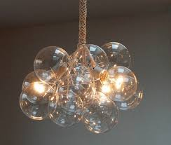 cherry bubble chandelier decoration diy idea floating interior attractive hanging ideas dining table light fixture entrance foyer lamp design
