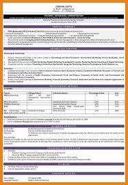 5 Format Of Resume For Teacher Job Actor Resumed