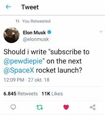 After Elon Pewdiepie Musk Pewdiepiesubmissions Met Tweet Leaked