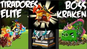 Tiradores Elite Cofre Boss Kraken Angry Birds Epic - YouTube