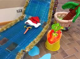 office xmas decorations. The Pursuit Of Happiness: Surfing Santa Hawaiian Office Christmas Decorations Xmas