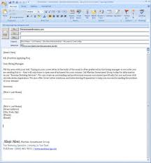 format for email cover letters email cover letter format with resume letter email cover