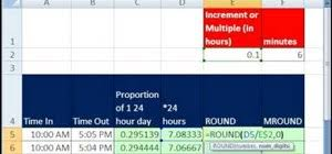 5 minutes to ms how to round to the nearest 1 10th of an hour in ms excel