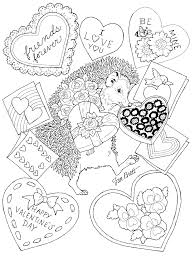 valentine coloring. Exellent Valentine Happy Valentines Day With Valentine Coloring O