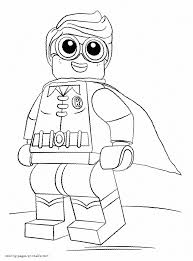 Small Picture Lego Batman And Robin Coloring Sheets Lego Batman Coloring