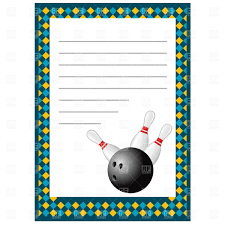 Bowling Party Invitations Templates Free Free Download Clip