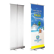 Pop Up Display Stands India Amazon RollUp Retractable Banner Stand Portable Trade Show 76