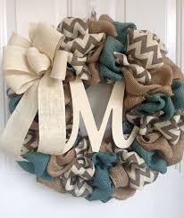 Burlap Wreath, Everyday wreath, burlap everyday wreath, chevron wreath