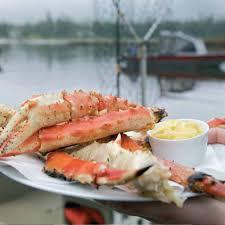 BBQ Wild Alaska King Crab Legs with ...