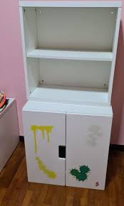ikea cabinet and shelves furniture