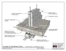 02 120 0752 Plank At Bearing Wall Interior Wall