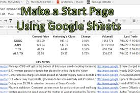 google current stock price use google sheets to track stock prices and news how to excel