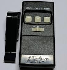 linear garage door opener remote. Plain Door Linear Allstar 109025 Garage Door Opener Remote 8833TCOCS Open Close Stop  190109025 In