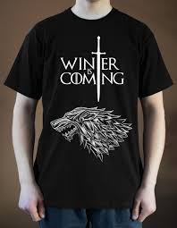 House Stark T Shirt Design Game Of Thrones Poster Ver 1 T Shirt House Stark Black S 5xlfunny Free Shipping Unisex Casual Top