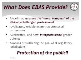 ethics and boundaries essay examination ppt video online  what does ebas provide a tool that assesses the moral compass of the ethically challenged