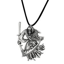 antique style grim reaper the in sterling silver loading zoom