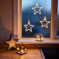 Led Stern Fensterdeko Weihnachtsdeko Mit Timer