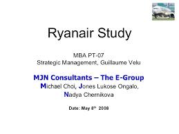 Ryanair Organisational Structure Chart Ryanair Strategic Study