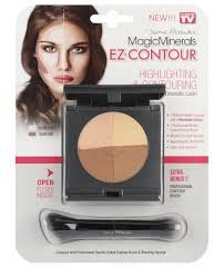 magicminerals ez contour by jerome alexander highlight and contour pact professional double
