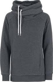"<b>Urban Classics</b> Sweatshirts, Vrouw ""<b>Ladies</b> Raglan High Neck Hoody"""