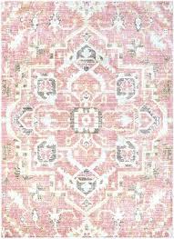 antique pink persian rug vintage c